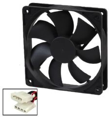 EVERCOOL EC12025M12BA  12Cm Fan - 4 Pin